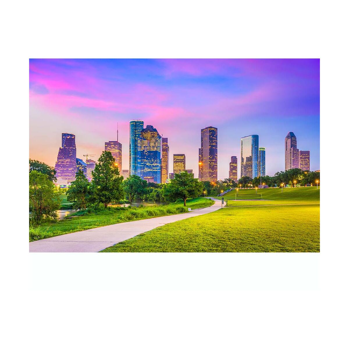 ElegArt Jigsaw Puzzles 1000 Pieces for Adults - Large 1000-Piece Puzzle for Kids with City Skyscrapers Theme - 27.56 x 19.69 Inches Cool Adult Jigsaw Puzzle - Non-Toxic 1000 Piece Family Puzzle Game