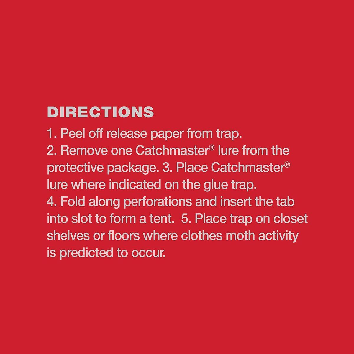 Catchmaster Decorative Pantry Moth Traps - 6 Premium Traps
