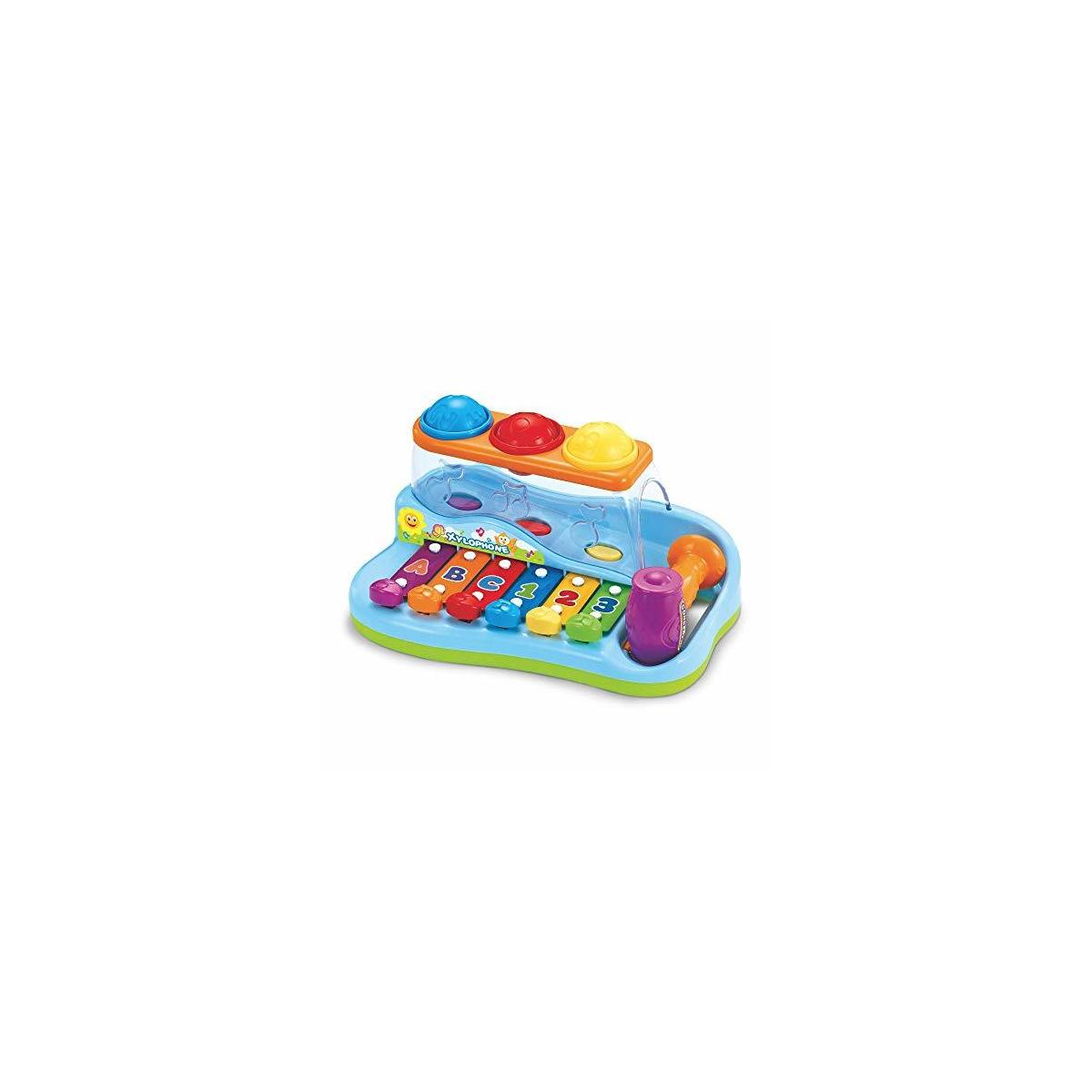 Baby Xylophone Instrument W Play Blocks Pull N Play ...