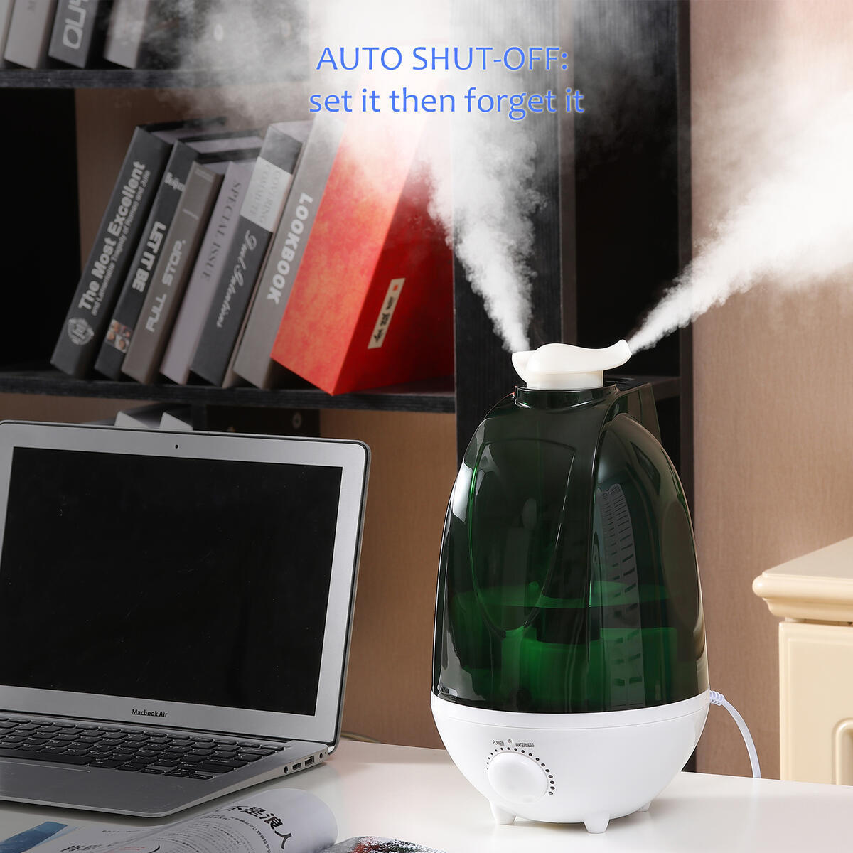 Humidifiers, Oil Diffuser, Cool Mist Humidifiers for Bedroom(SX-124793)