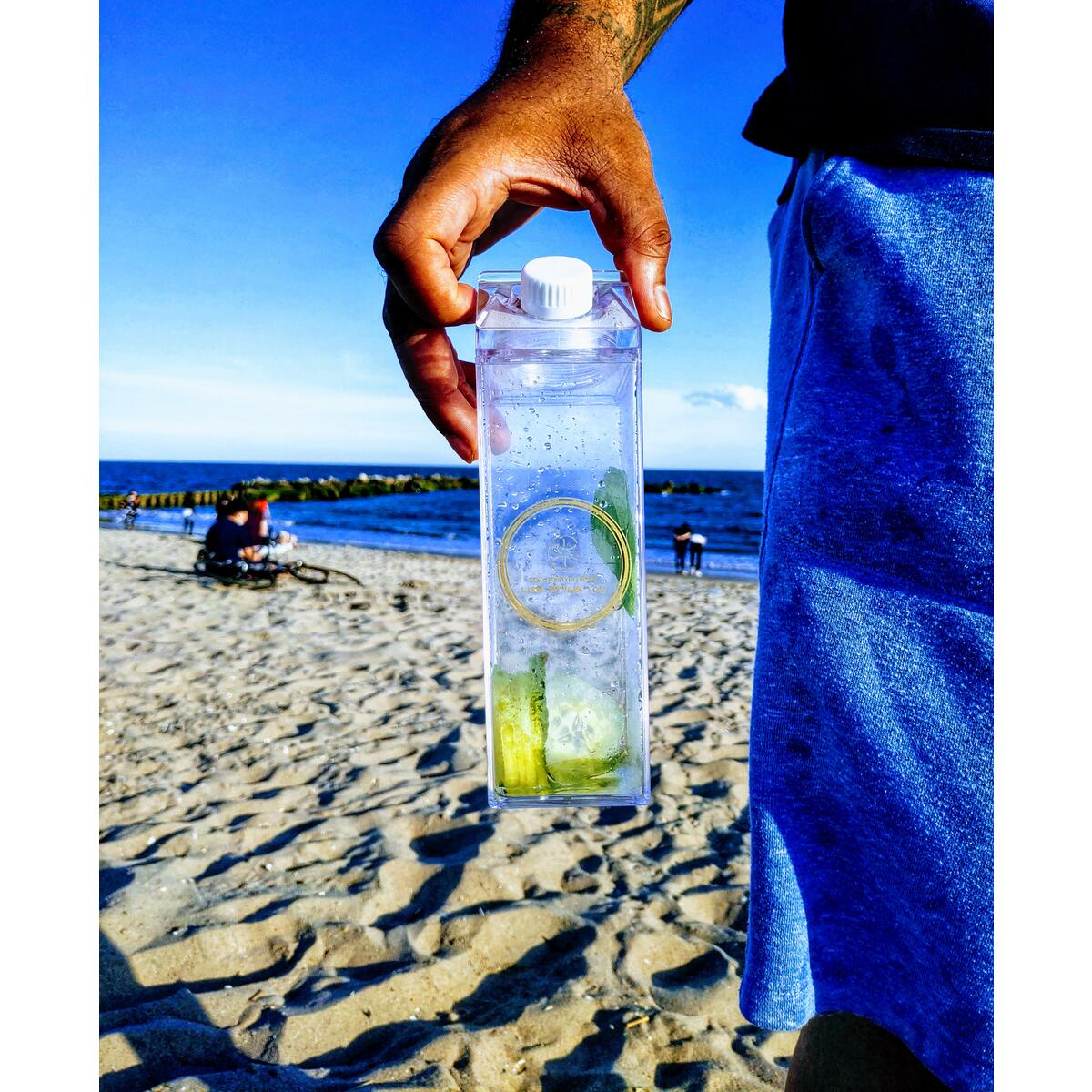Eco Friendly - Reusable - Water/Beverage Bottle