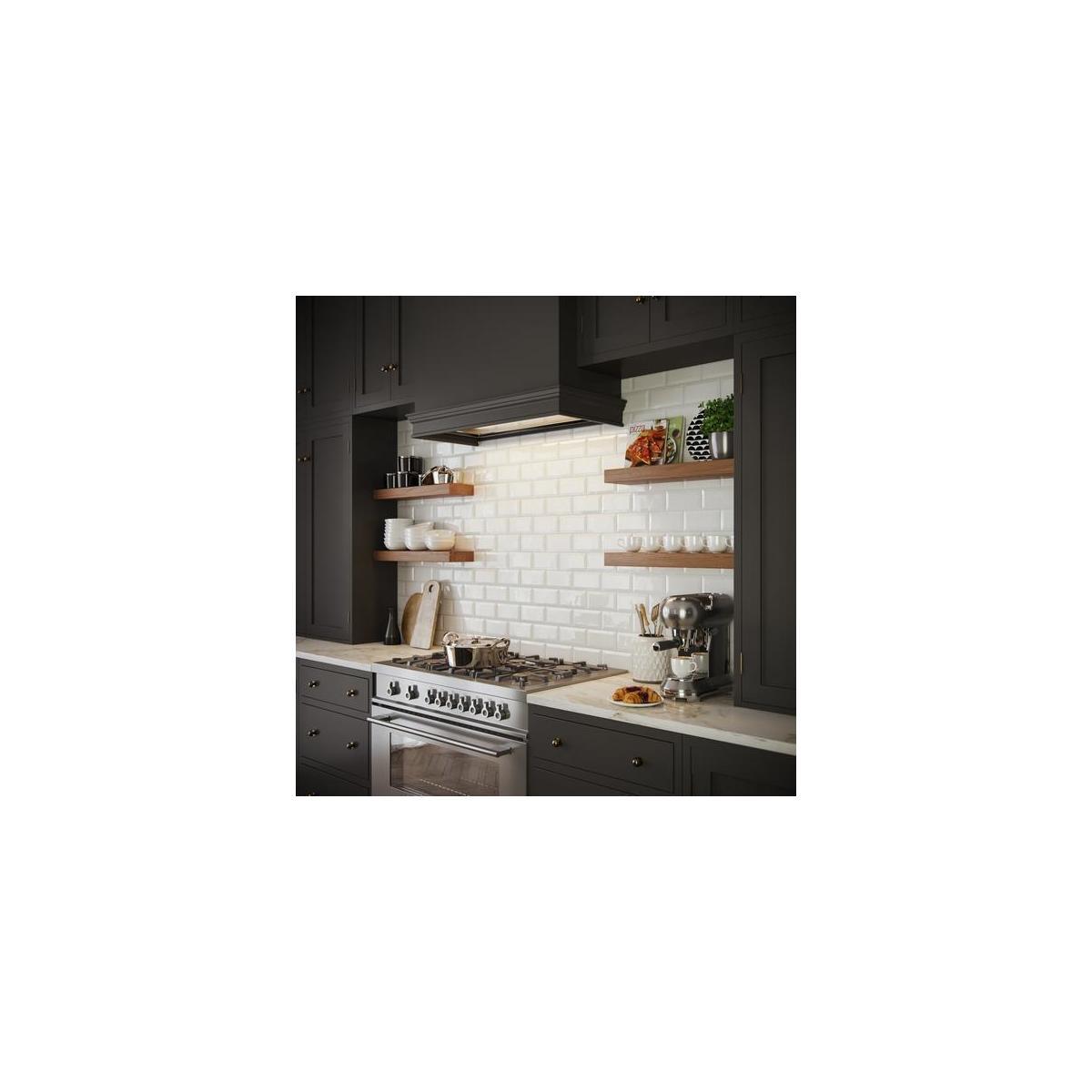 Rustic Wood Floating Shelves Wall Mounted - 2