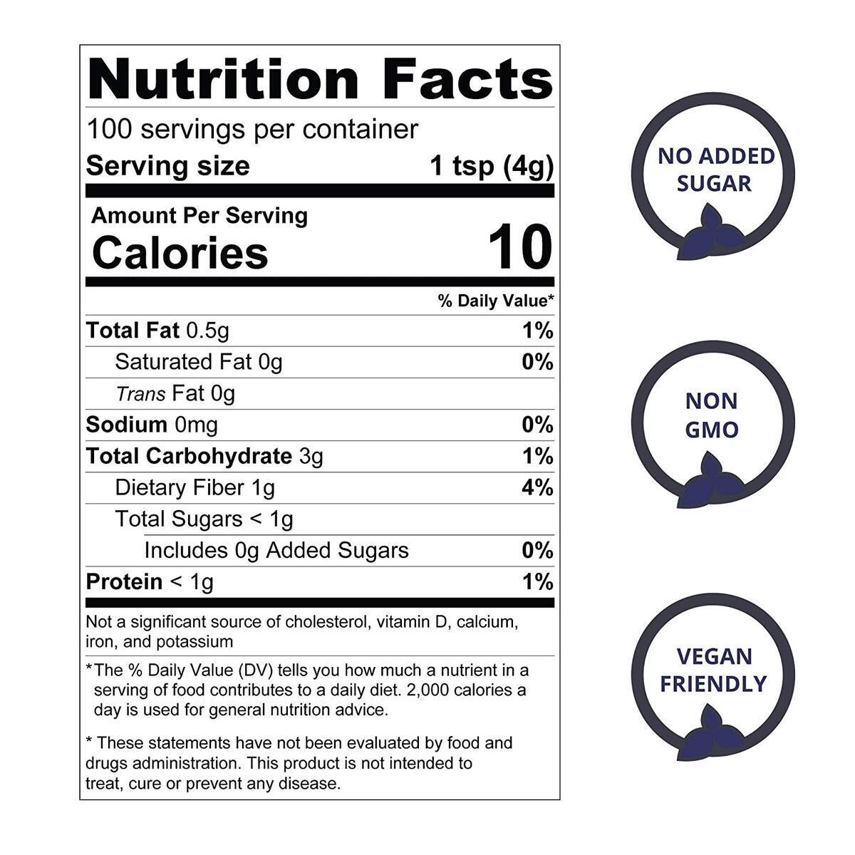 Jungle Powders Aronia Powder   14oz 100% Natural Non Gmo Vegan Friendly Black Chokeberry Powder   Freeze Dried Antioxidant Superfood Concentrate…