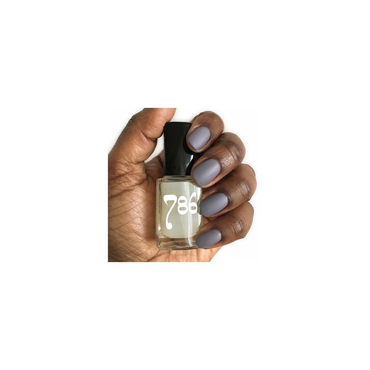 786 Top Coat Matte Nail Polish (Turn any nail polish color into a beautiful matte finish)