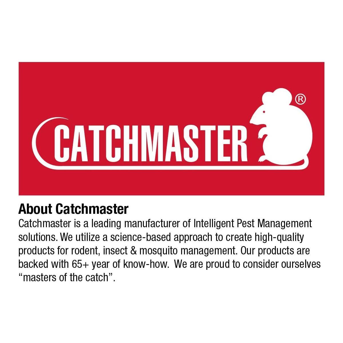 Catchmaster Baited Rat, Mouse and Snake Glue Traps - 12 Traps - Professional Strength