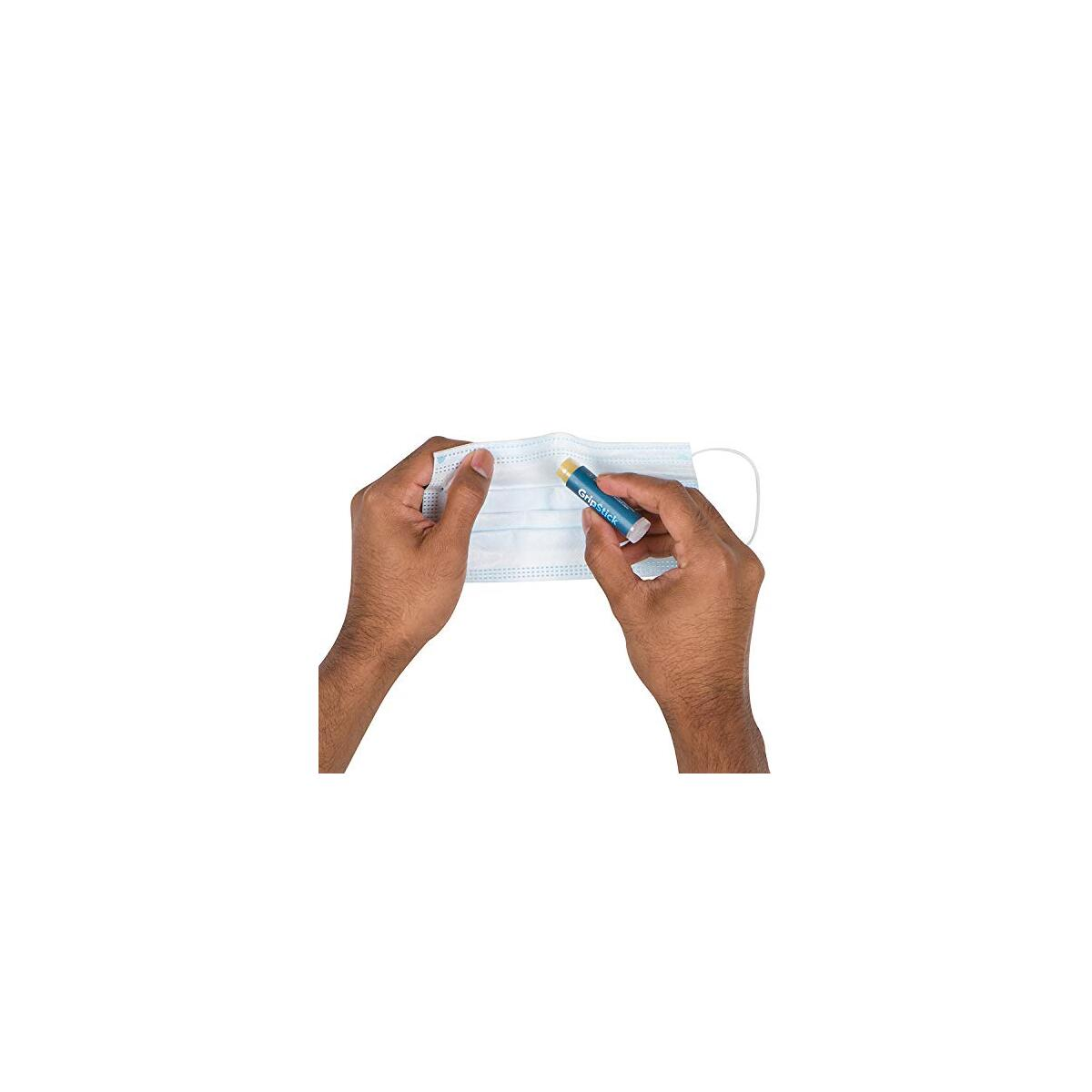 GripStick - Anti Slip Grip for Face Covering - Anti Fog Glasses Solution for Face Cover
