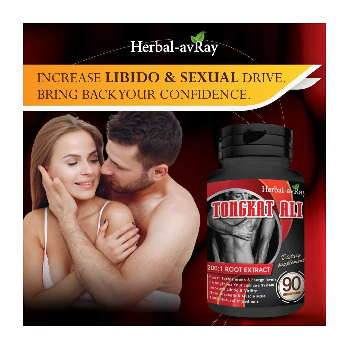 Longjack Tongkat Ali for Men – Natural Testosterone Booster for Men Muscle Growth – 200 to 1 Extract, 90 Eurycoma Longifolia Capsules – Stamina Fuel for Men, Fertility & Libido Lift, Energy Booster
