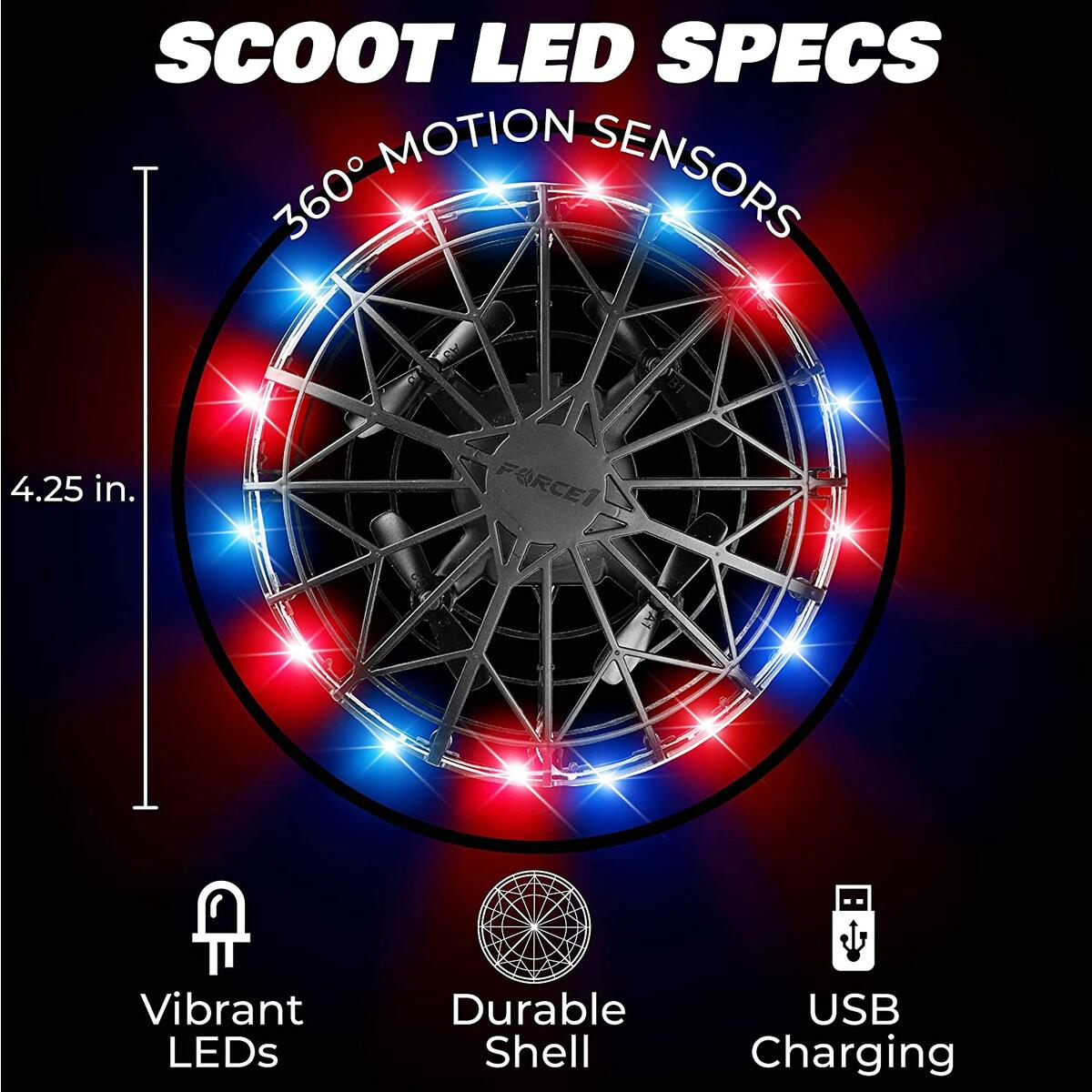Scoot LED Red/Blue