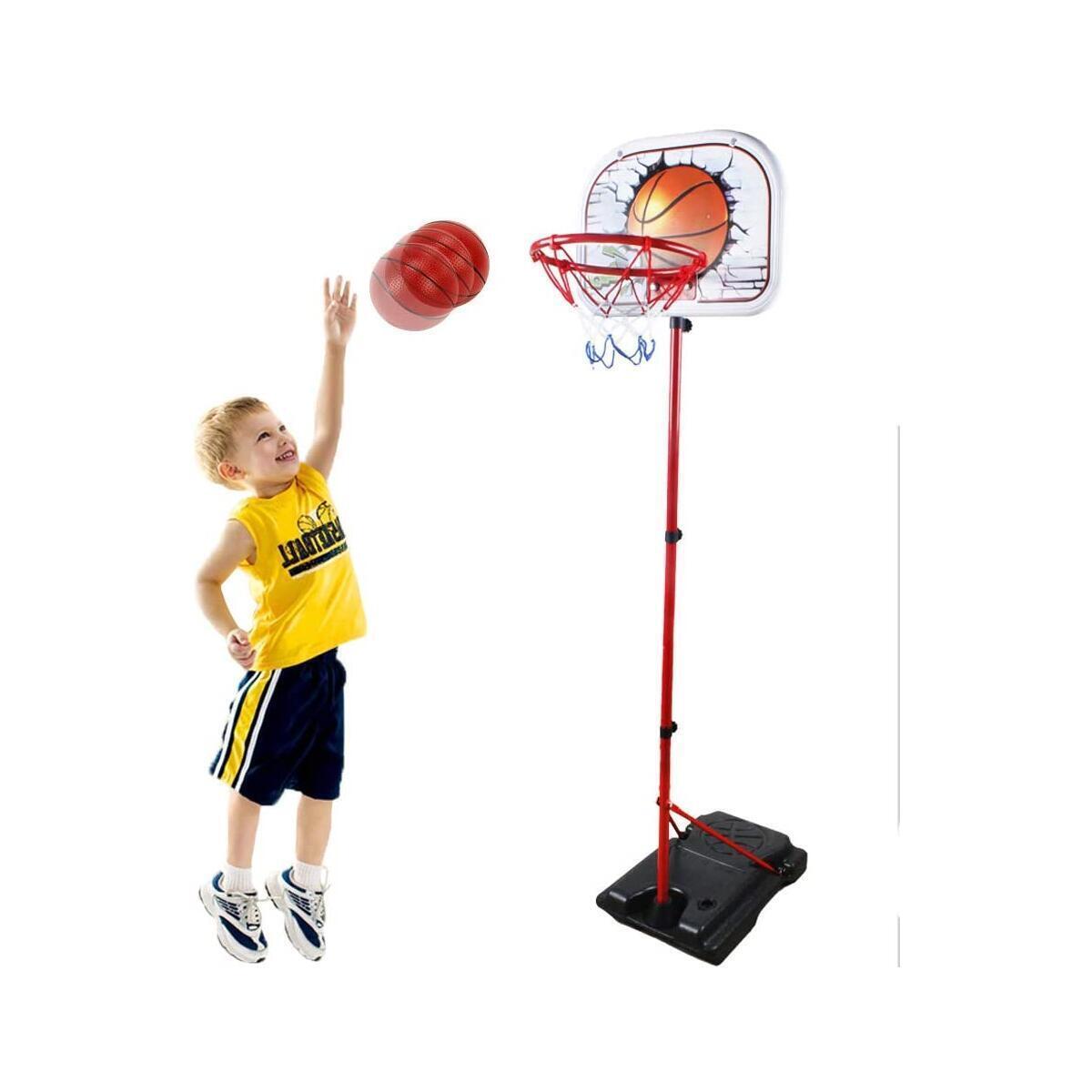 Basketball Hoop for Kids - Kids Basketball Goal Toddlers Basketball Hoop Adjustable Height Mini Basketball Hoop for 3 years old