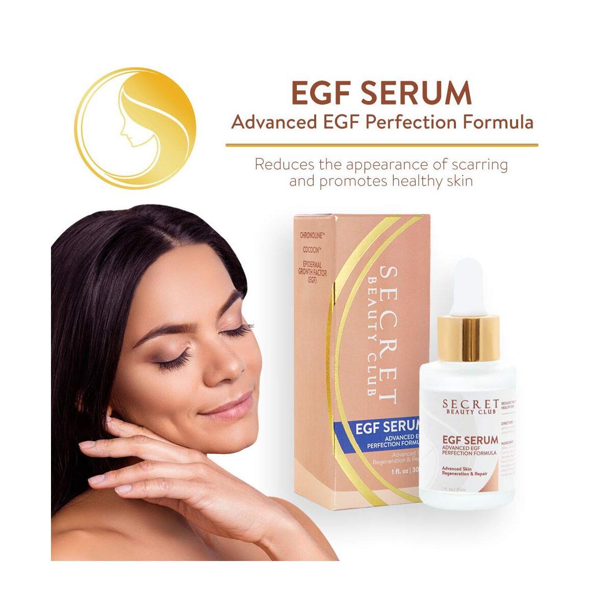 EGF Serum – Our Best Skin Regeneration & Repair Serum – Scar Reducing - Diminish Appearance of Fine Lines, Wrinkles, Acne Scars & Blemishes