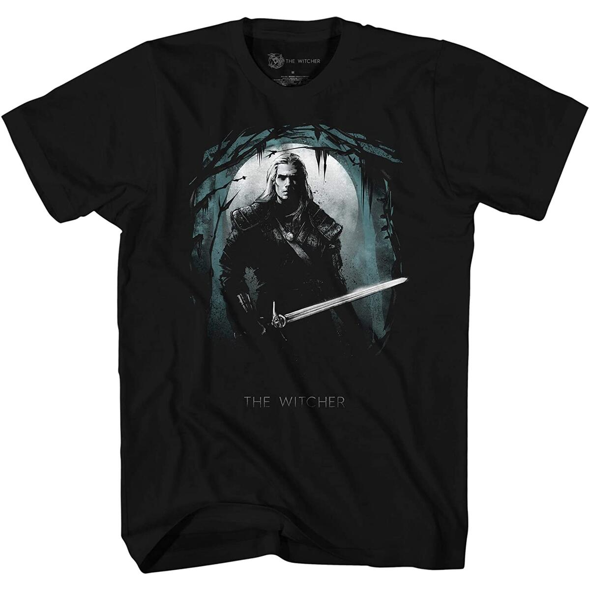 The Witcher Gerald in The Dark Woods T-Shirt