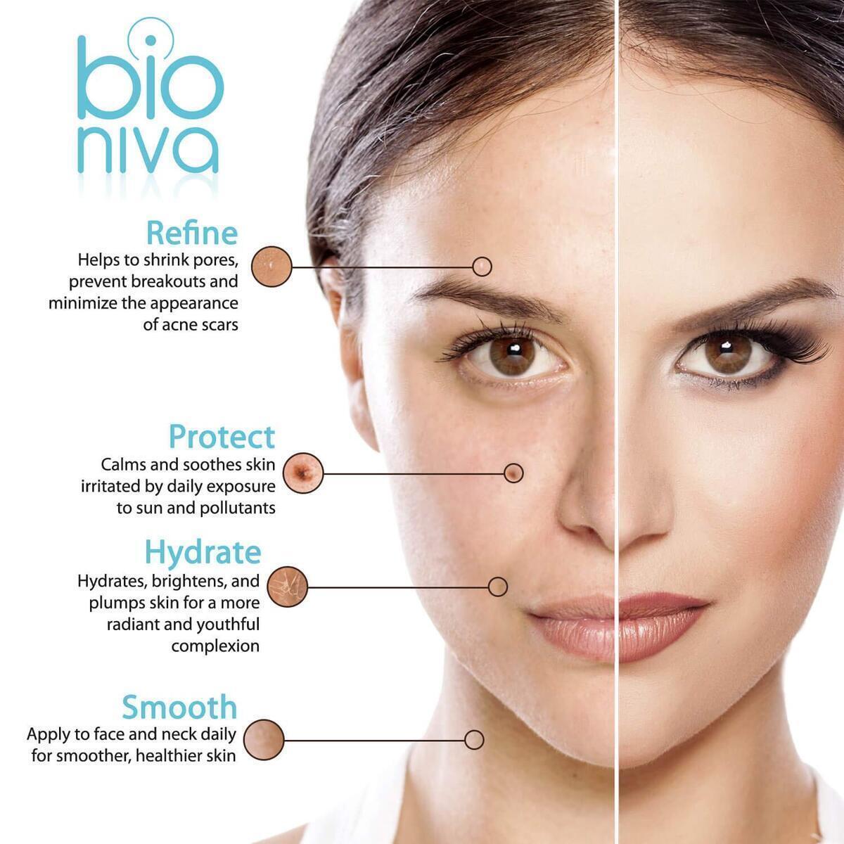Bioniva Hyaluronic Acid Serum with Vitamin C, Green Tea & Vitamin E