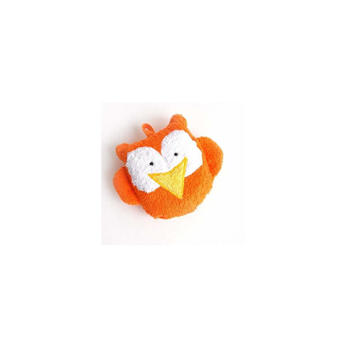 Baby Bath Toy Sponge Owl Washcloth Animal Newbaby Toddler Gift