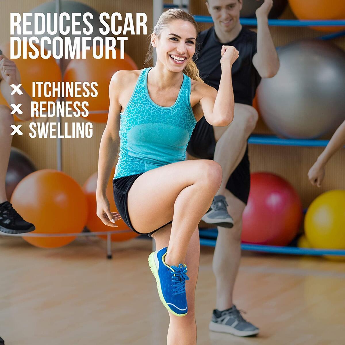 [Advanced] Silicone Scar Gel 40g, Scar Removal Gel, Silicone Gel Scar Treatment For Old & New Scars, Keloid, Acne Scar Gel, Scar Remover Gel for Surgery Scars, C Section, Stretch Marks Scar Repair Gel