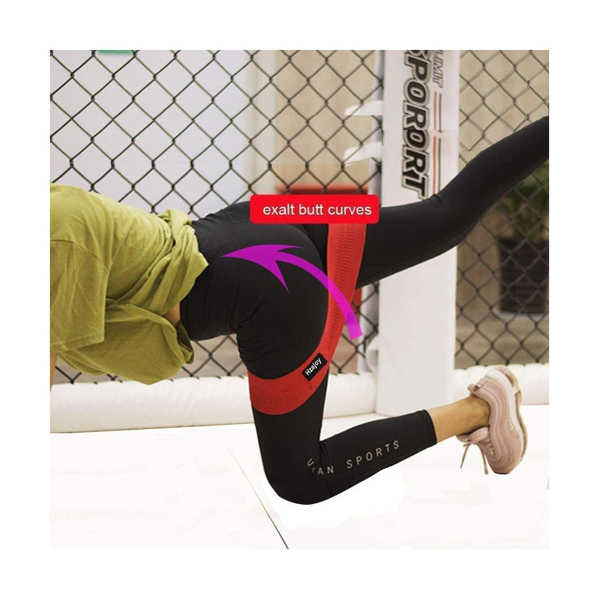 Hzajoy Resistance Bands Booty Bands  Full Body Resistance Training 17 pics