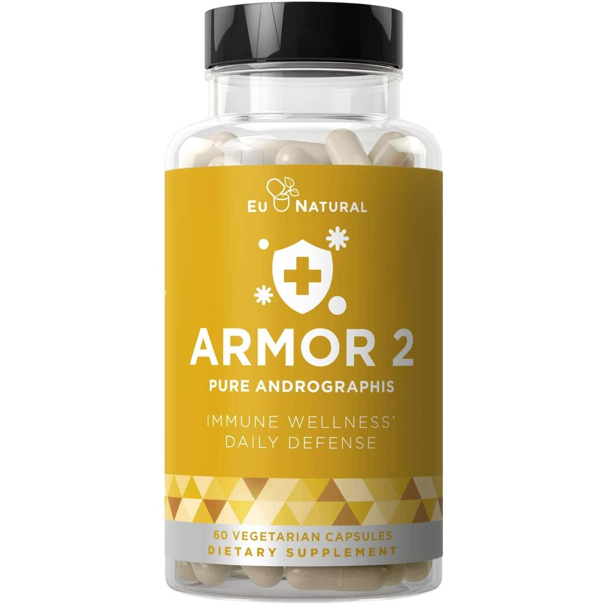 ARMOR 2 ANDROGRAPHIS Pure 800 MG – Healthy Immunity Function & Immune Care for the Seasons