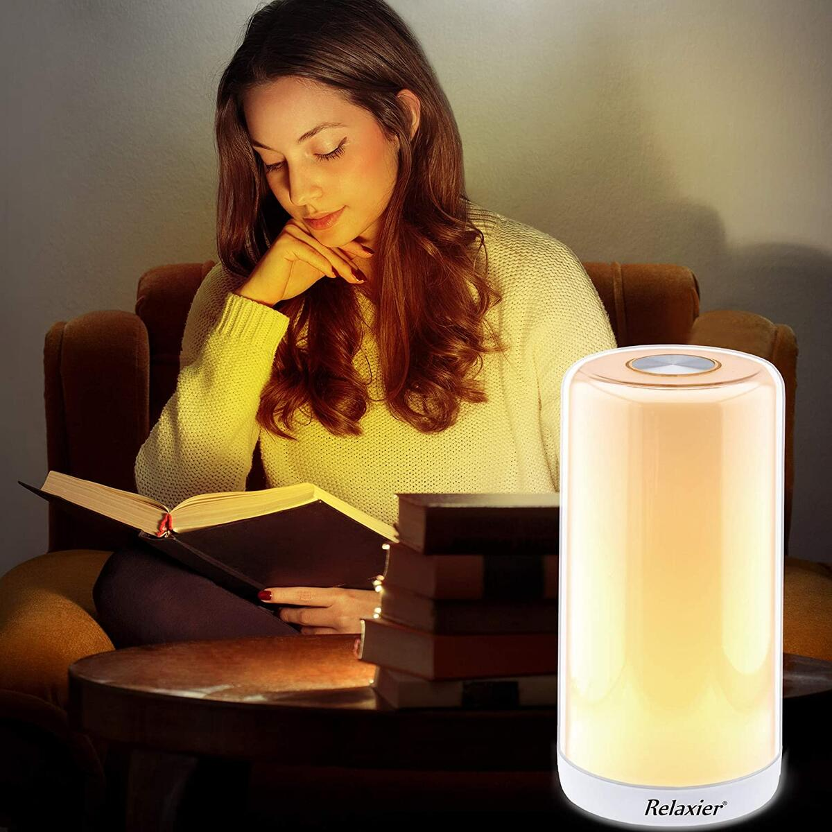 Relaxier Touch Control Dimmable LED Table Lamp