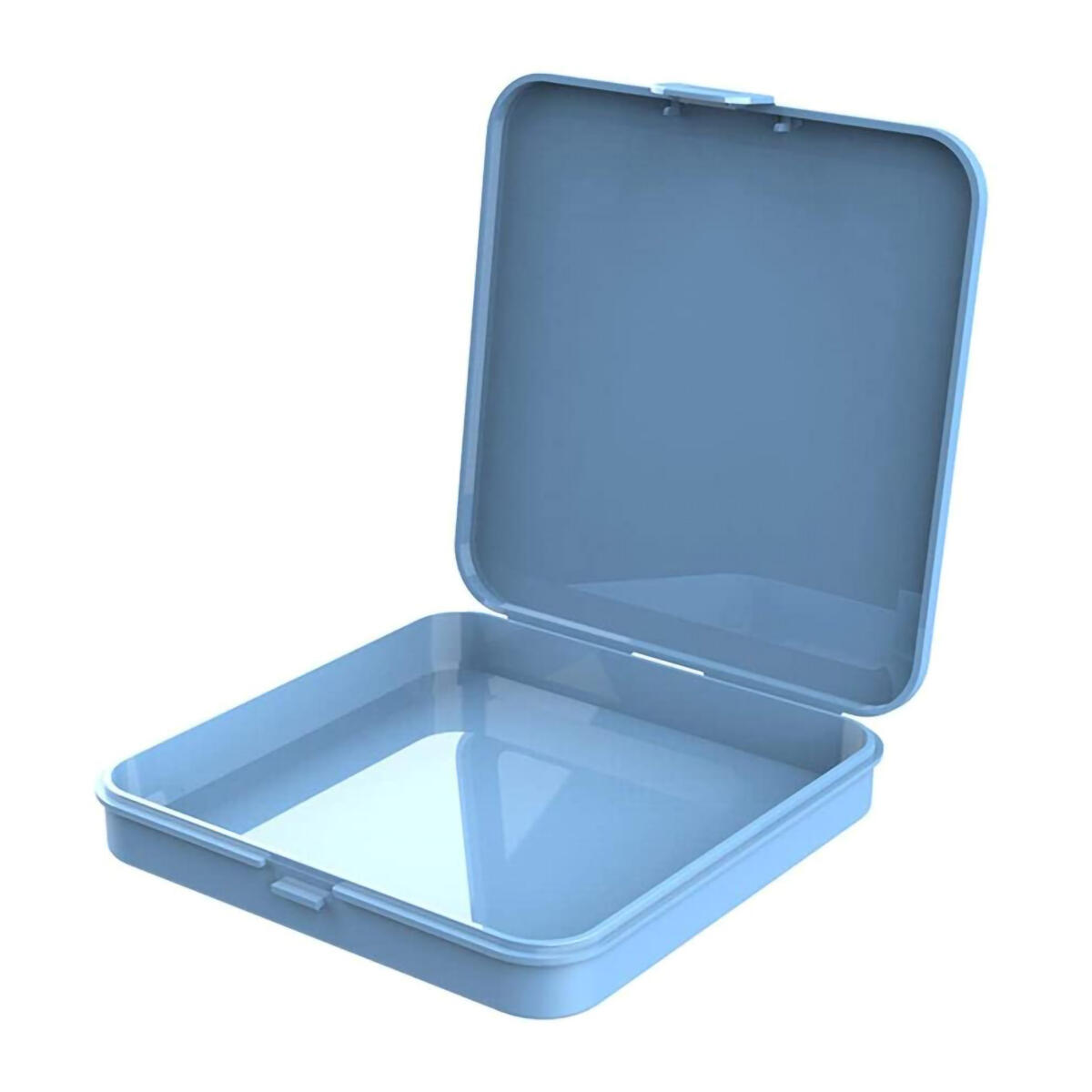 Portable Mask Case - Perfectly Polished Thick Mask Storage Case for Reusable and Disposable Masks - Food-Grade Plastic Mask Case Holder, Premium Mask Container, No burrs
