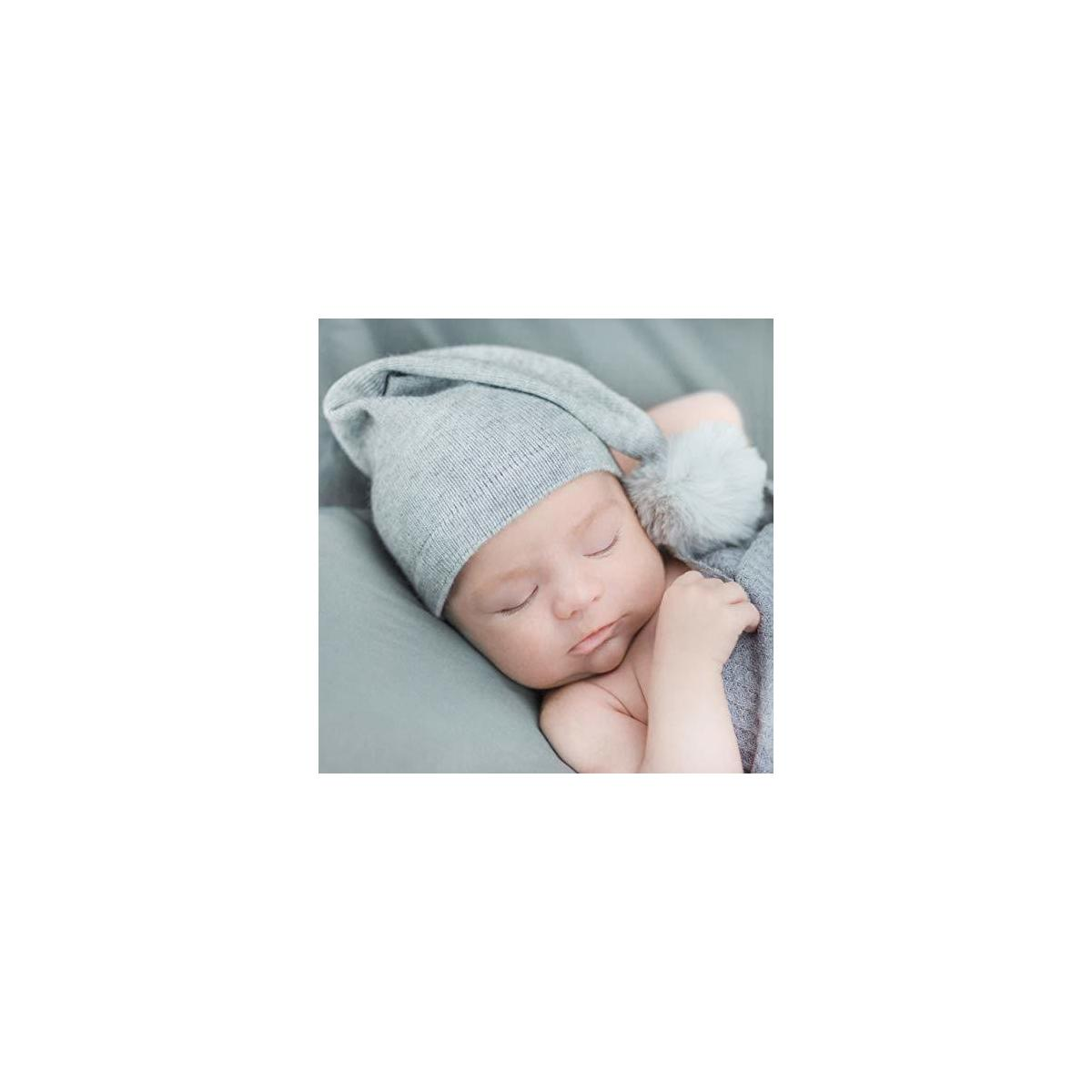 First Landings 2 Wool Newborn Hats | Newborn Photography Props for Boys or Girls | Twin Baby Gifts | Unique Baby Gift Set