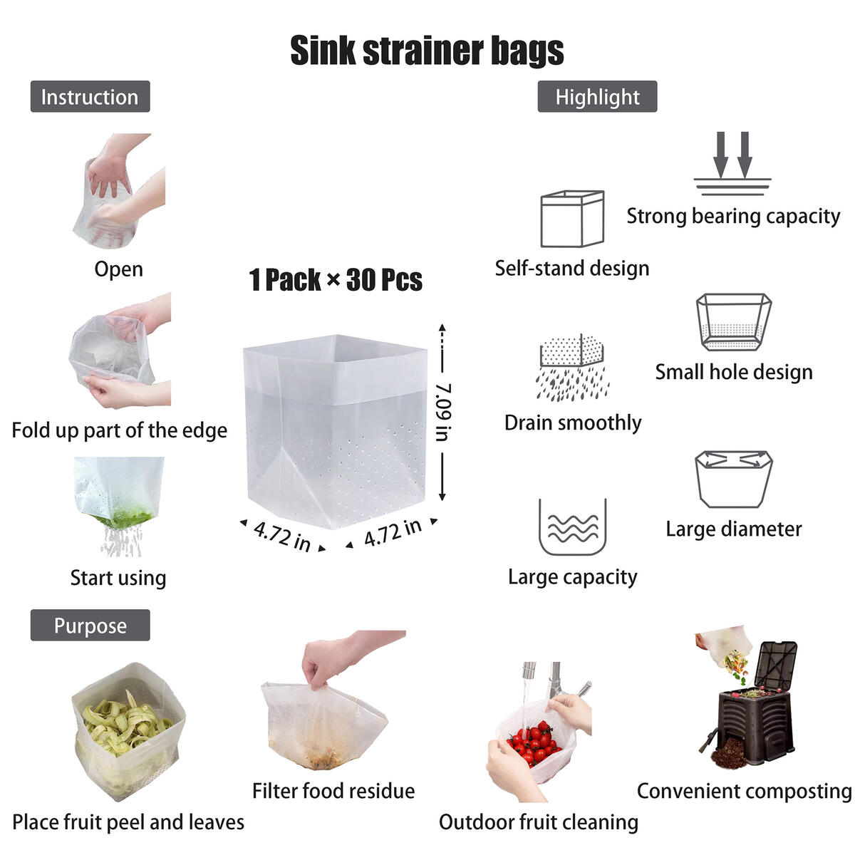 Family Dish Washing Tools/Kitchen Clean Gadget Set - Silicone Wash Gloves,Palm Scrubber,Folding Scraper Brass Brush,Emery Sponge,Disposable Handy Wipes,Sink Strainer Bags,Stainless Steel Soap(10Packs)
