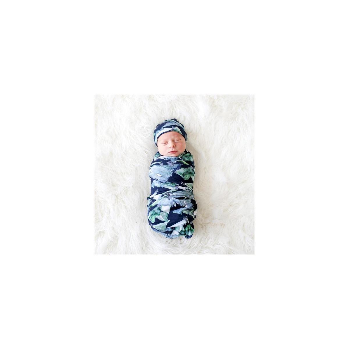 Henry Blue Baby Swaddle