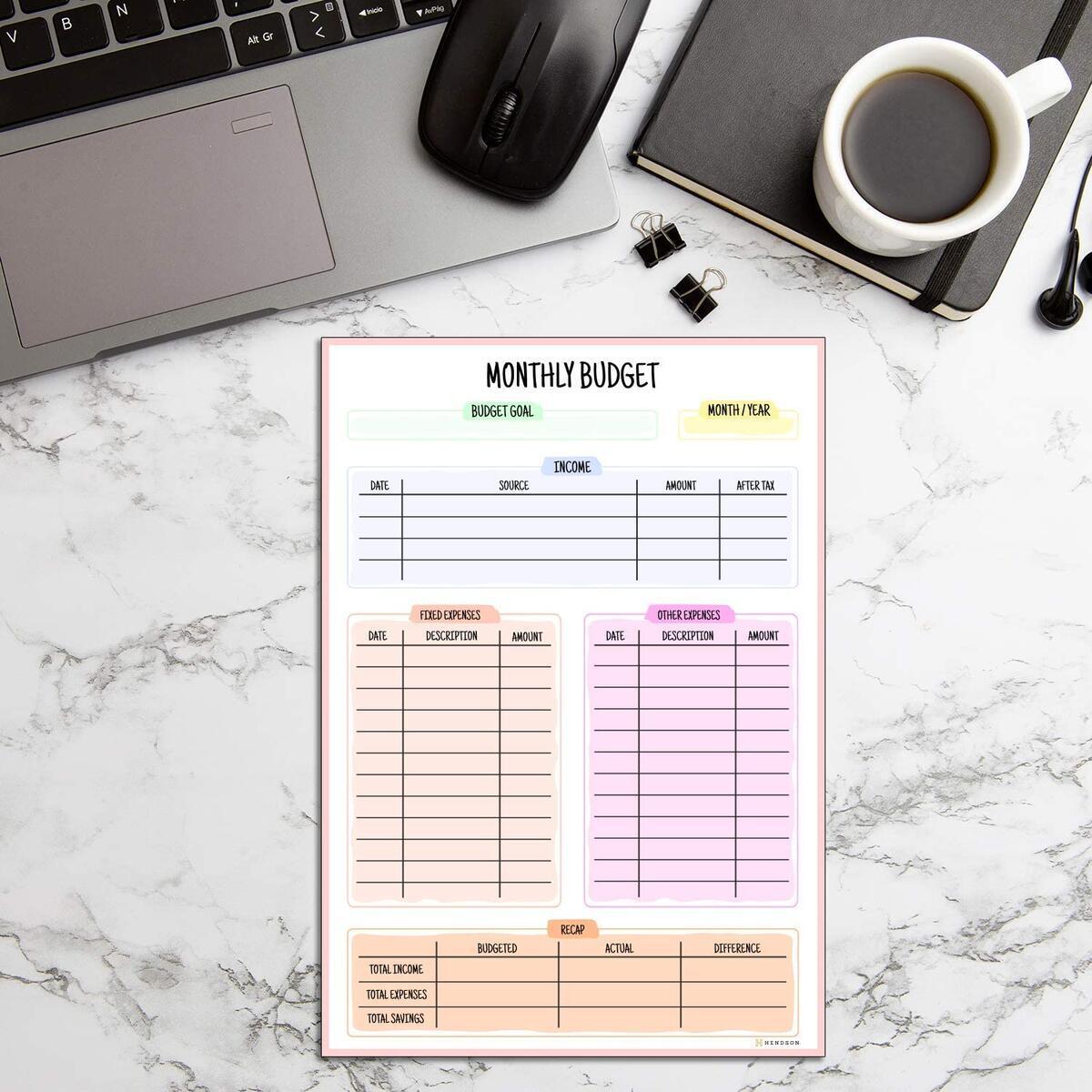 Budget Planner Rebate