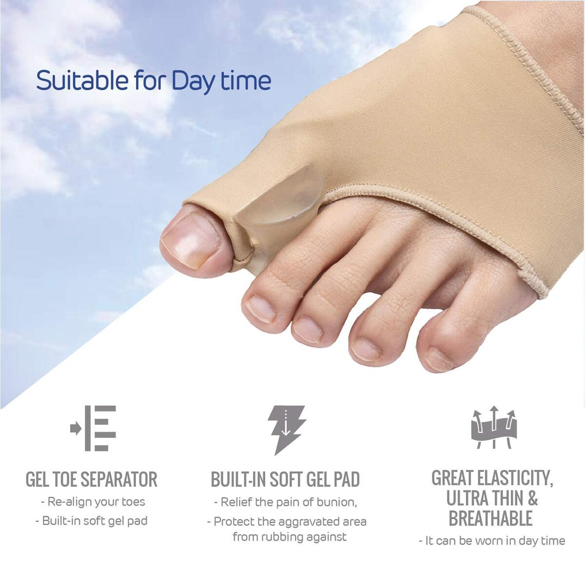 Bunion Corrector and Pain Relief Kit -10pcs