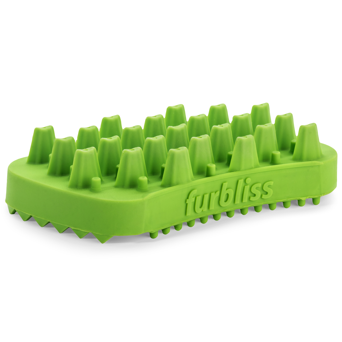Furbliss Dog Brush for Grooming Dogs & Cats with Long Hair - Brushes, Massages, Great for the Bath