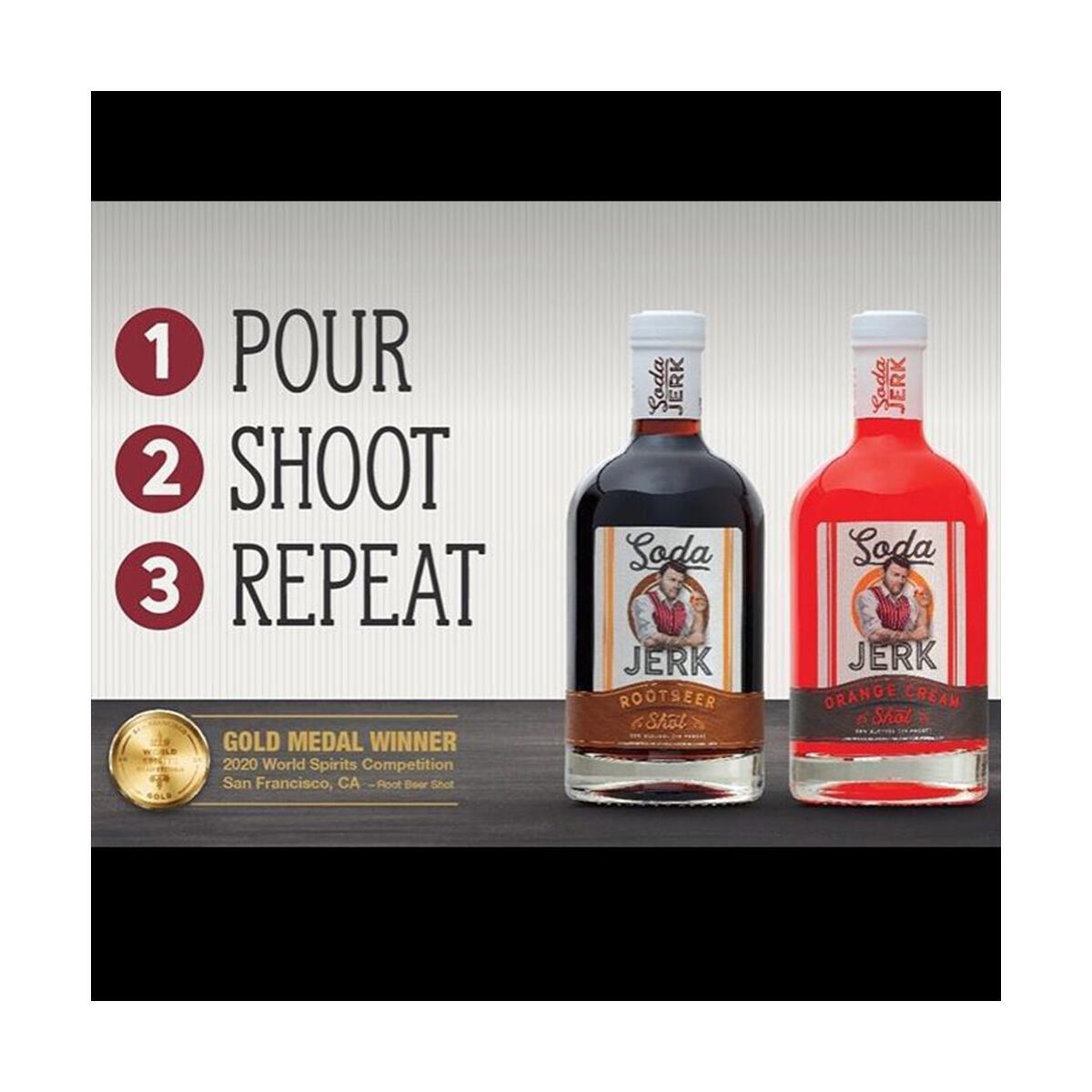 SODA JERK SHOTS - Vodka Based Liquor | 2 Bottle PICK YOUR OWN Combo Pack 750ml each - MUST BE 21+ to Purchase / Adult Signature Required