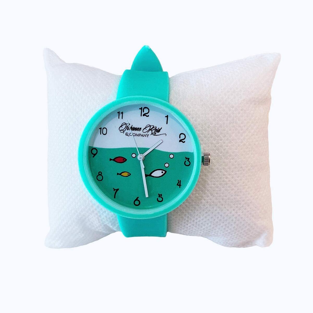 Green & Teal Children's Watch