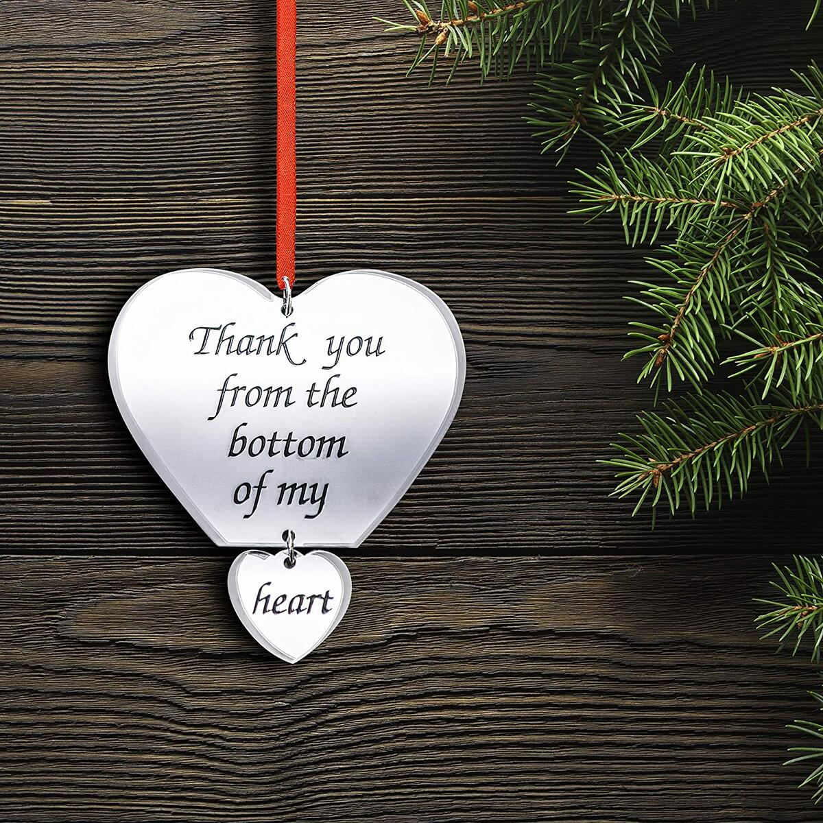 Thanks You Ornament