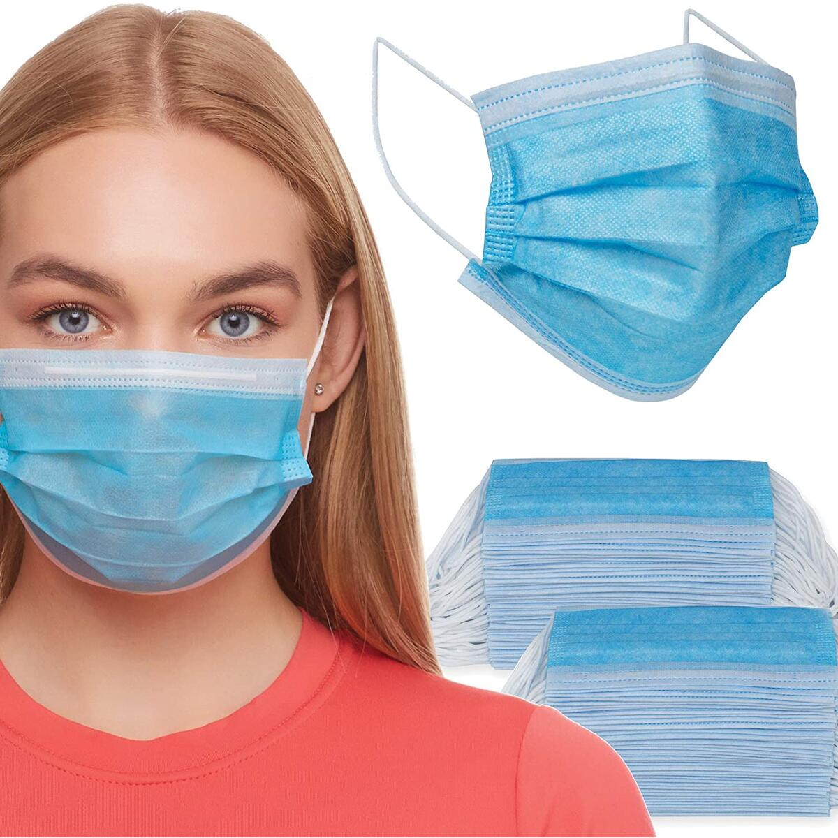 100 Disposable Masks