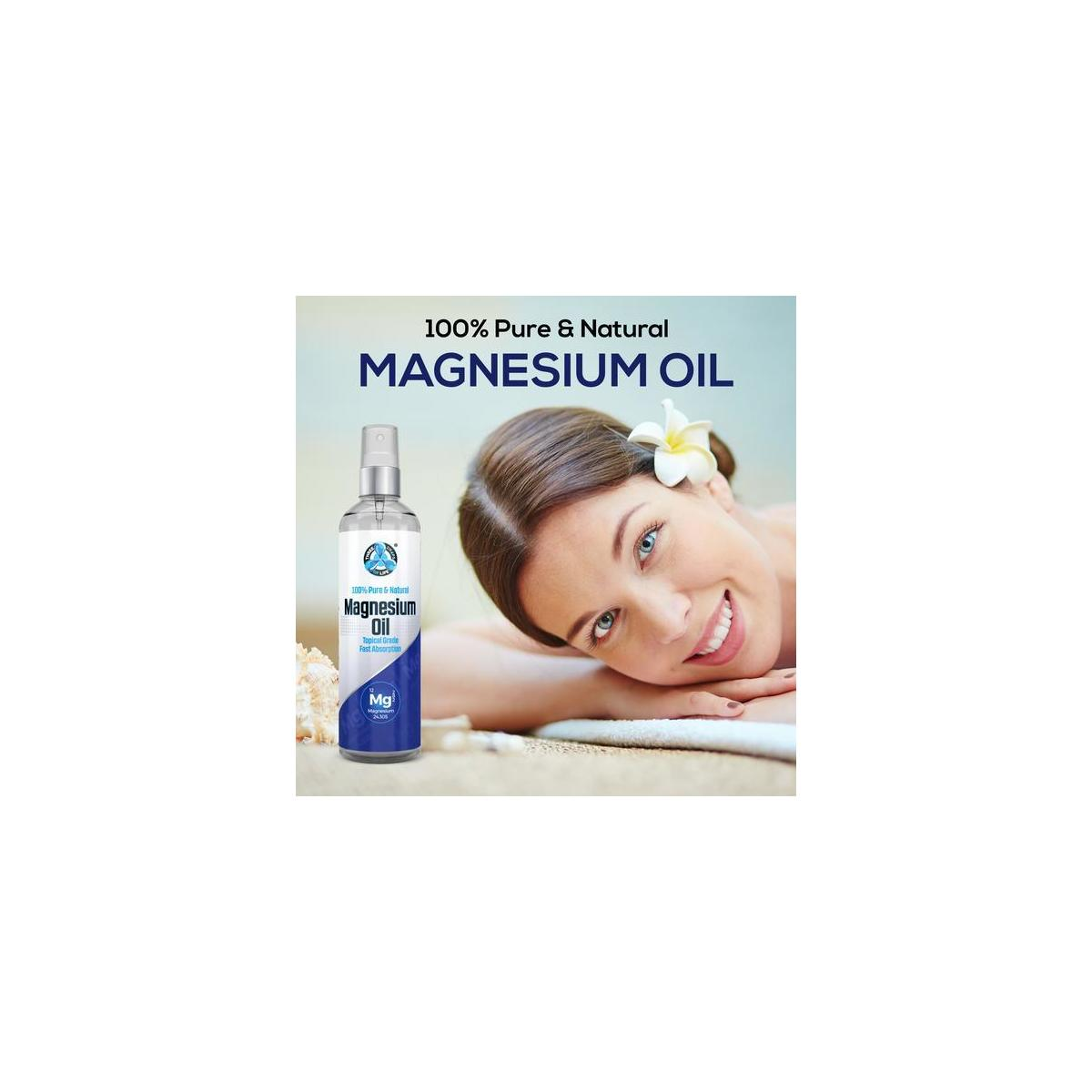 Pure Magnesium Oil - Directly from the Zechstein Sea