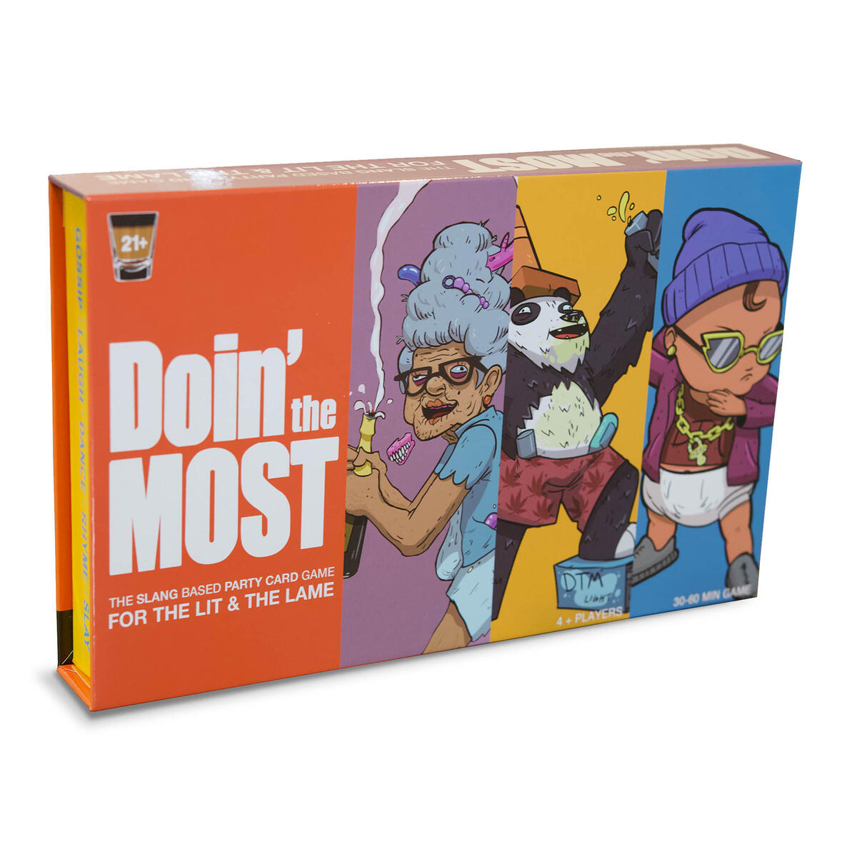Doin' The Most - The party card game for adults in YOUR bubble