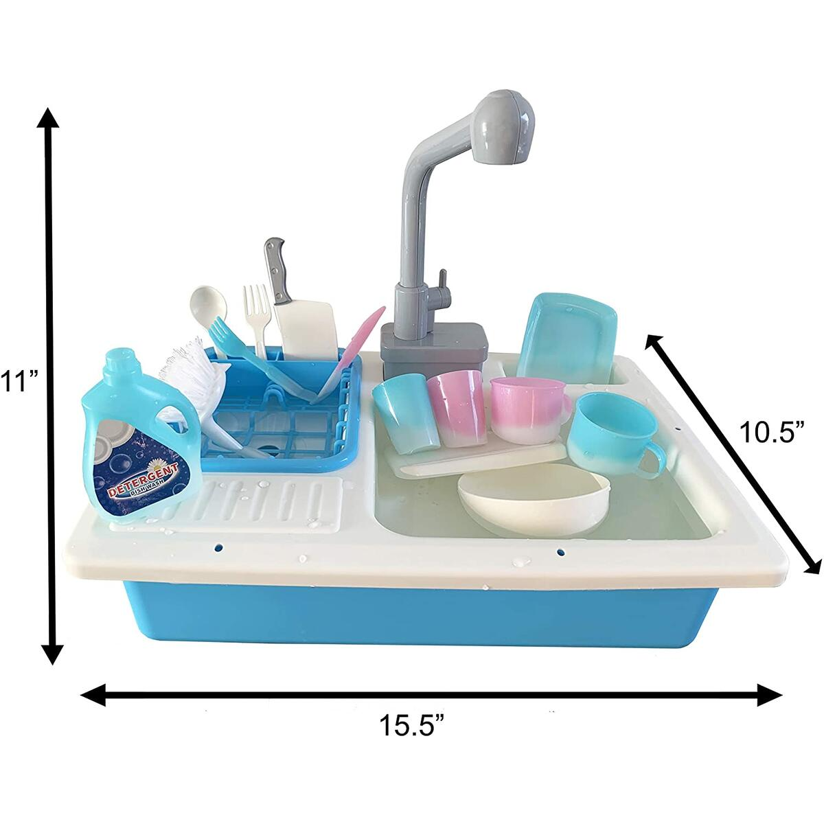 Kid Sink Toy With Real Running Water and Color Change