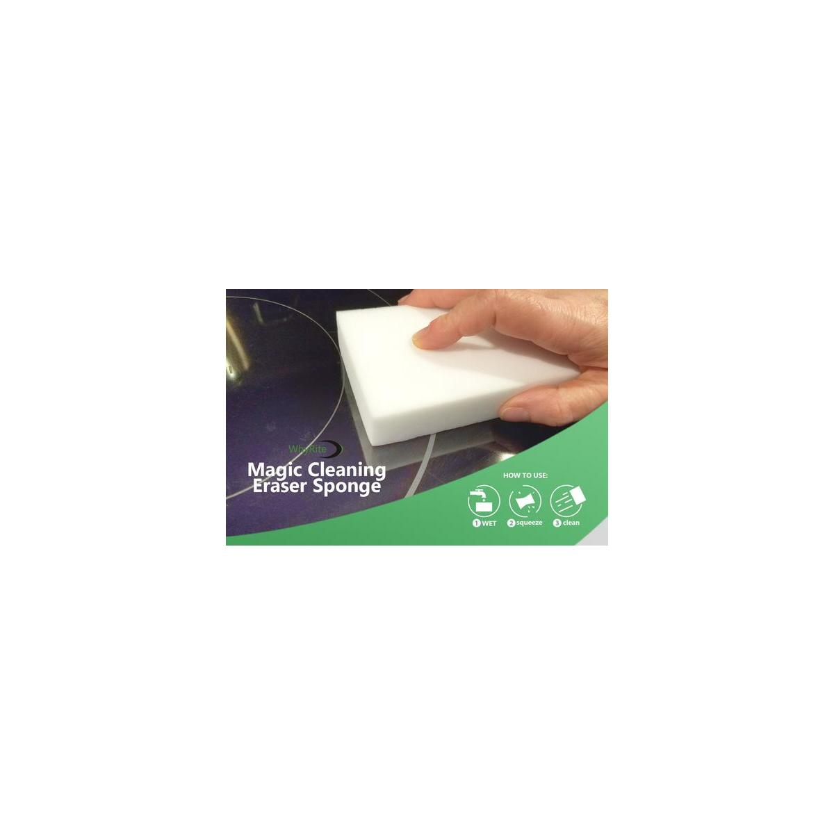 Magic Eraser Sponge Melamine Foam Pack of 25 Paint Stain Remover Bathroom Wall Furniture Floor Cleaner