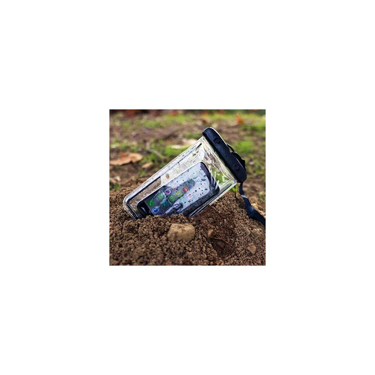 Fireproof Document Bag & Waterproof Phone Pouch