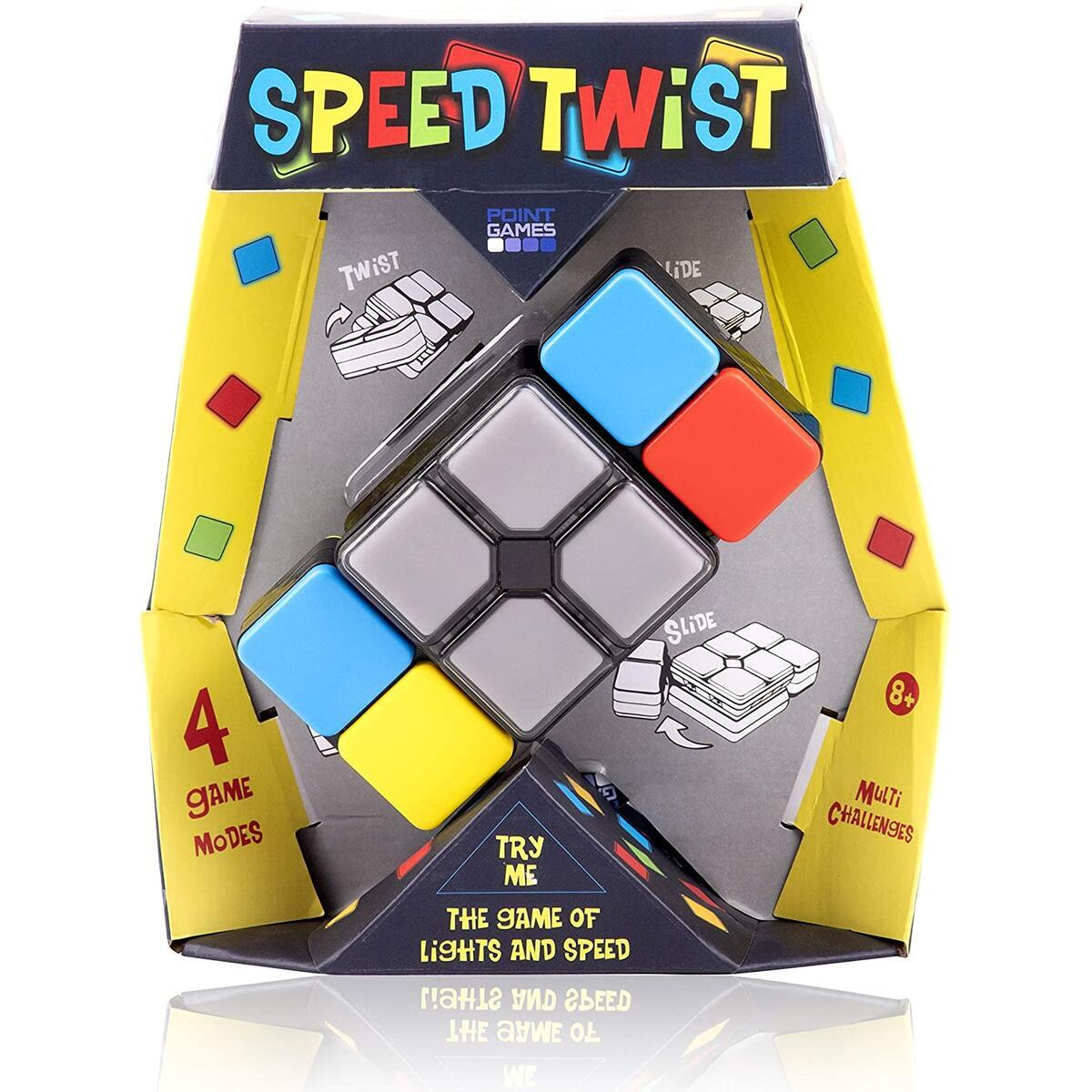 Speed Twist - Super Addictive Fun Game for All Ages Challenging Level Hours of Fun Flip Side Entertainment for Kids and Adults