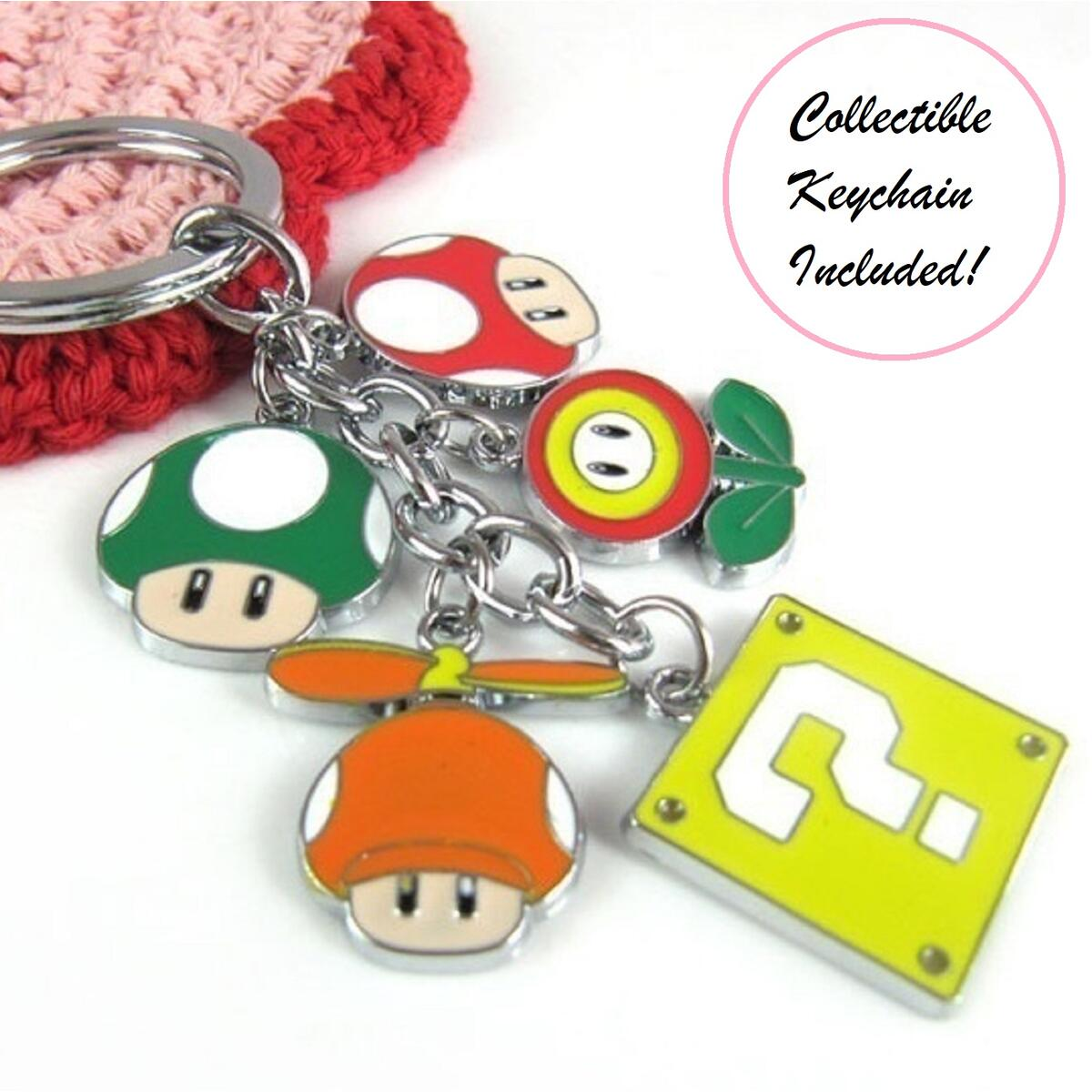 PXP3 Handheld Portable Game Console with 2 game cartridges Mario Keychain