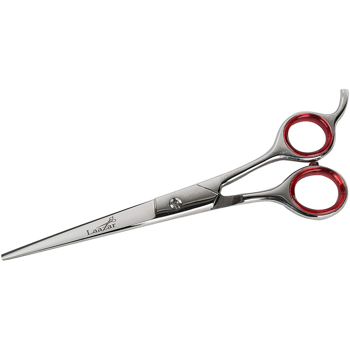 """Laazar Cat and Dog Pet Grooming ScissoLaazar Cat and Dog Pet Grooming Scissors Kit with Leather Poucrs Kit with Leather Pouch (3-Piece Set) 