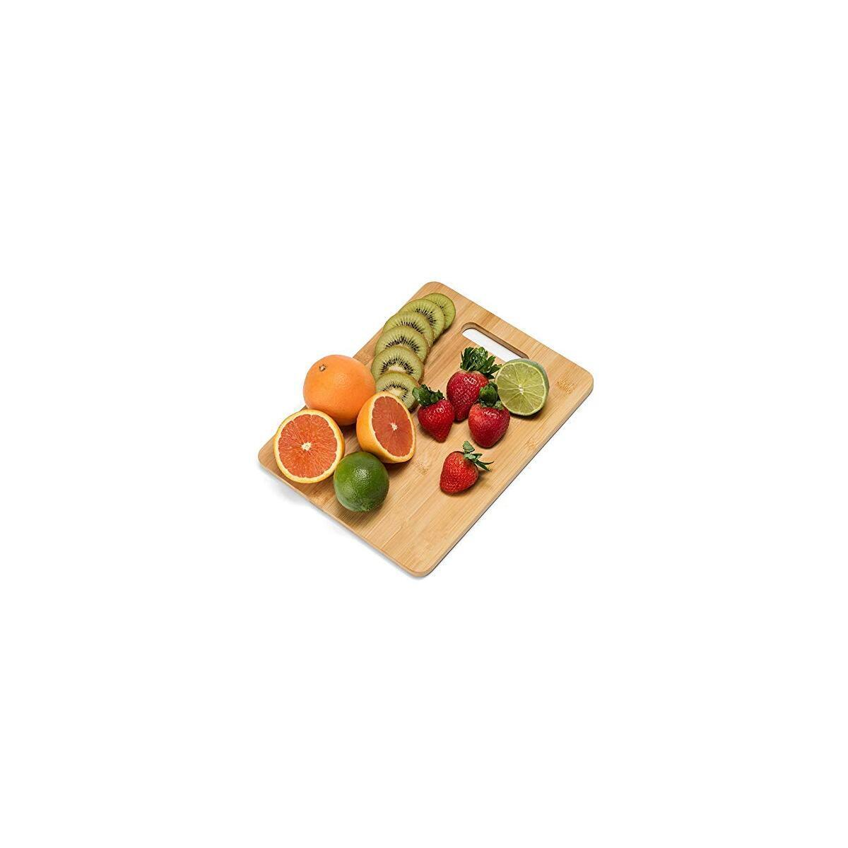 Cutting Board Organic Premium Cutting Board- 3 Pack - Large Cutting Board - Cutting Board Board Cutting Board
