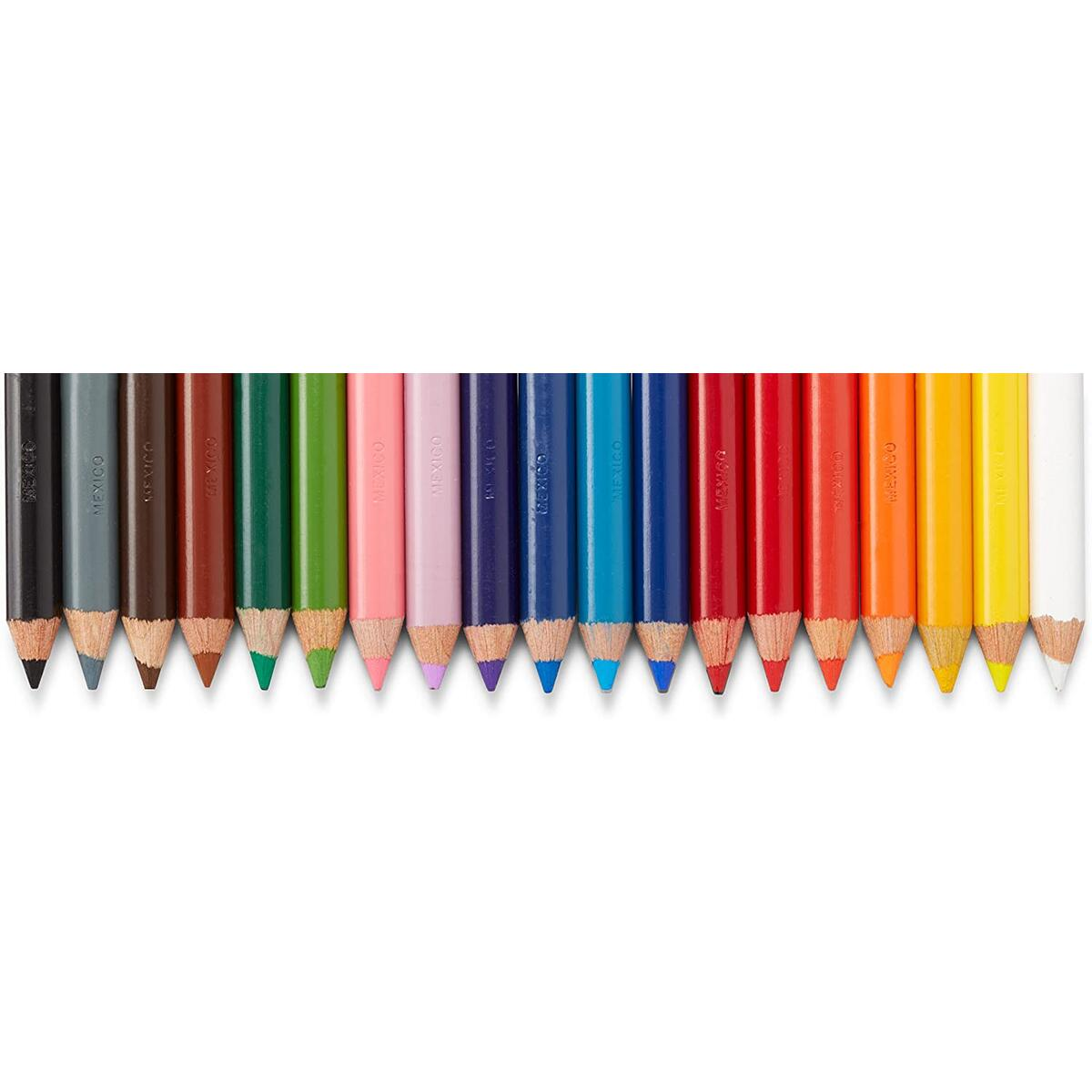 Prismacolor 3598T Premier Soft Core Colored Pencils, Soft, Thick Core Pencils for a Smooth Color Laydown, Pigments, Assorted Colors, Pack of 48