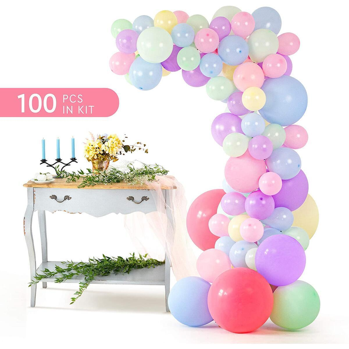 Pastel Balloon Garland Arch Cash Back Rebatekey