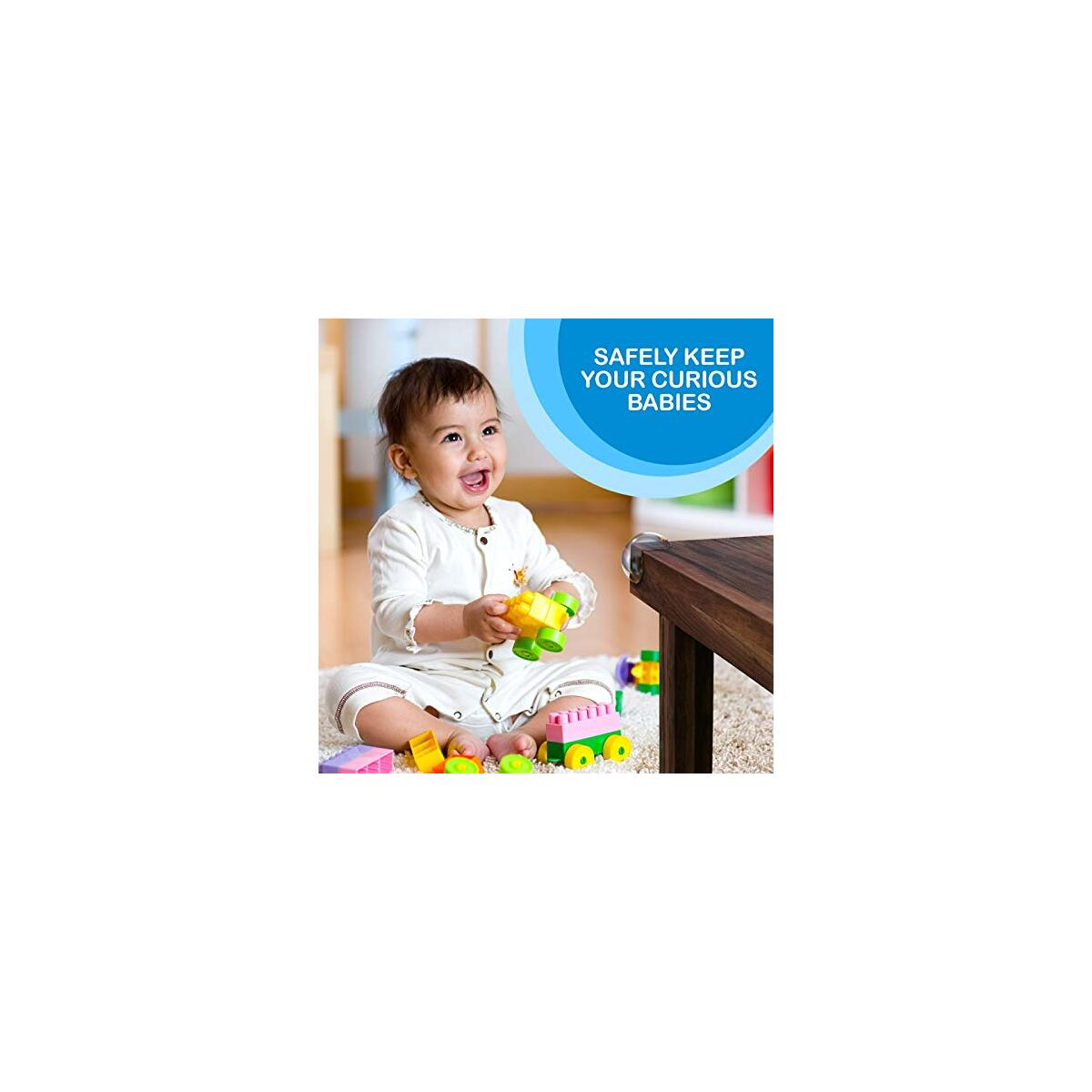Kids Clear Corner Guards -20 Pack + Free Gift- Child Safety Sharp Corner Protector