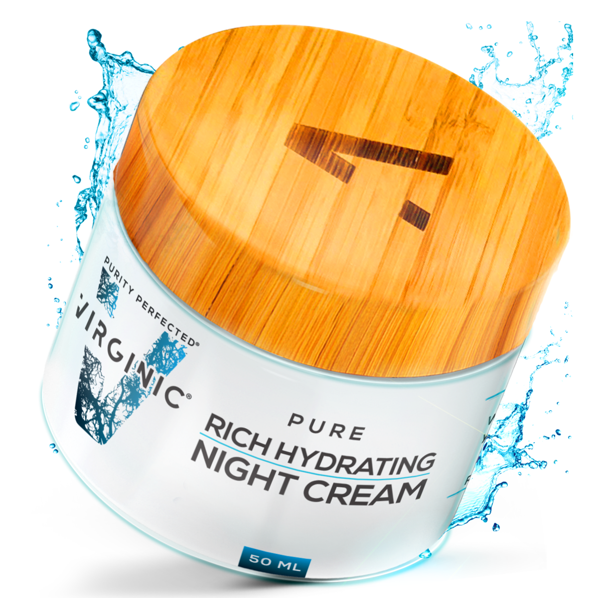 NIGHT Face Cream | New Nano Science in Anti Aging | Nano Purity - The Most Biologically Pure Product on the Market | Nano Particles Work on Deepest Skin Layers | V Limited Edition