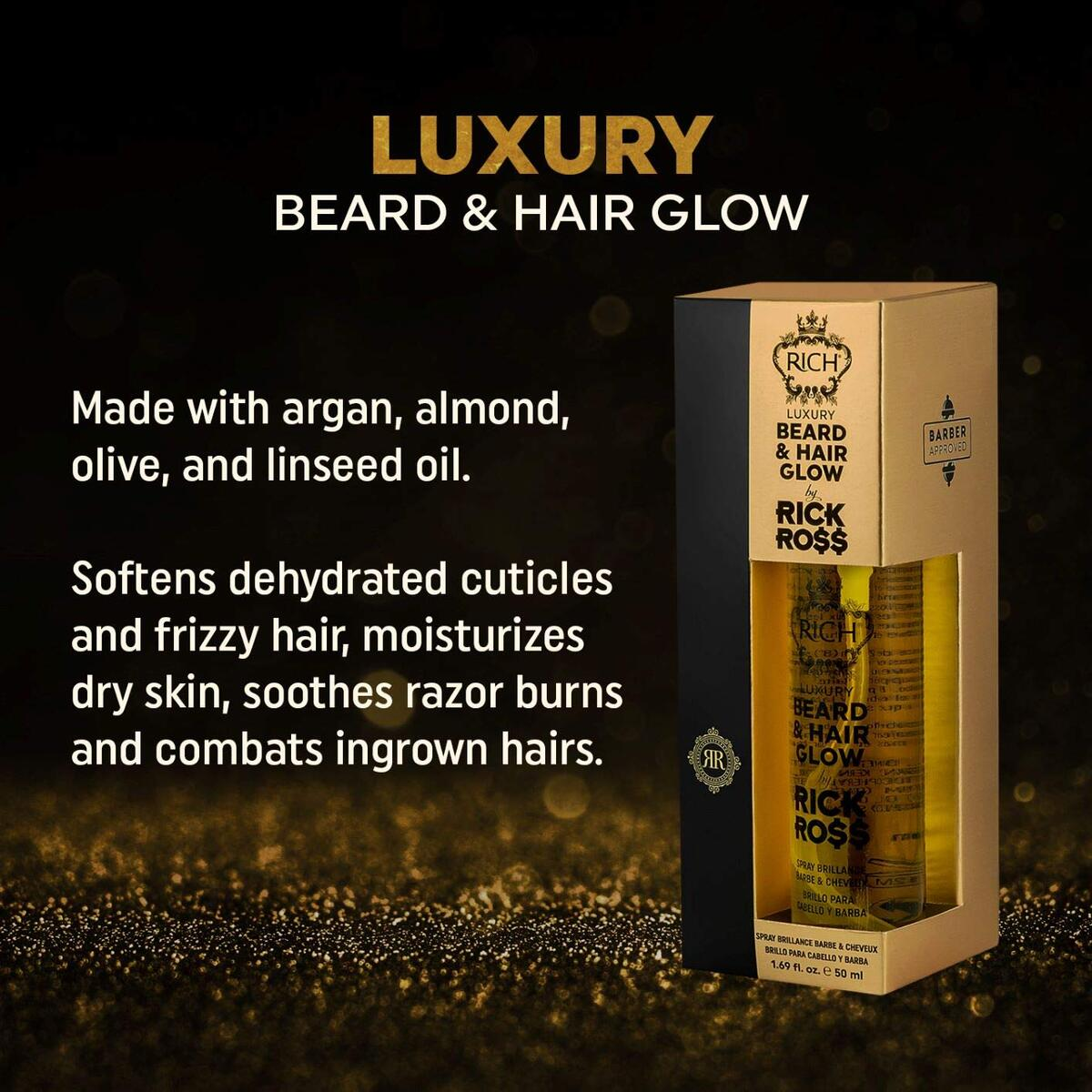 RICH by Rick Ross Luxury Beard & Hair Glow