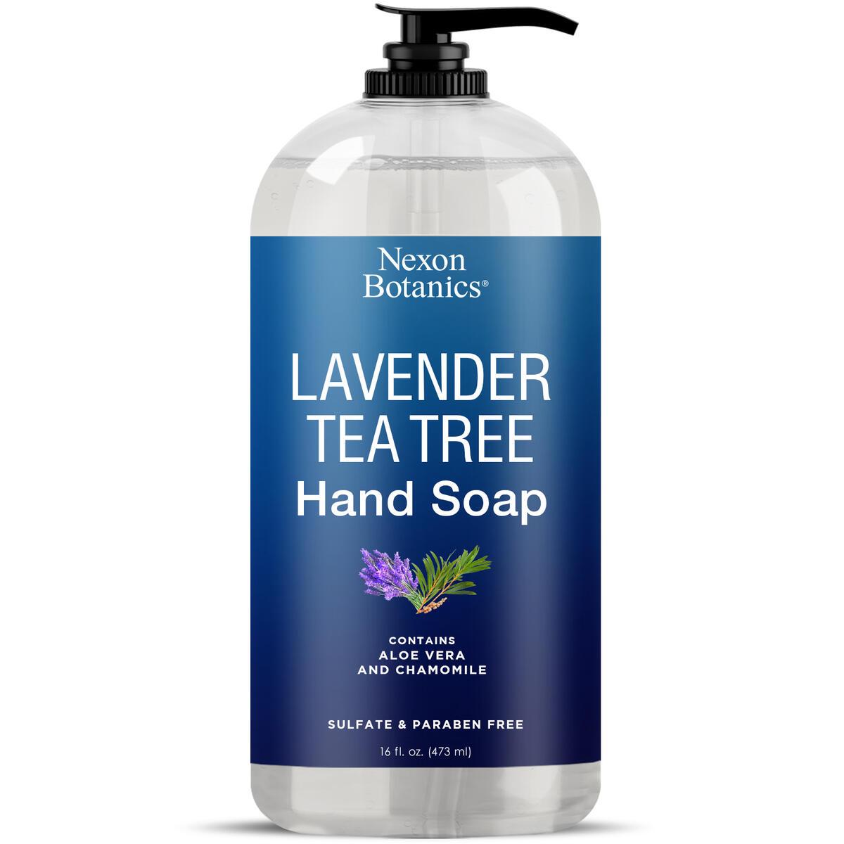 Lavender Tea Tree Hand Soap