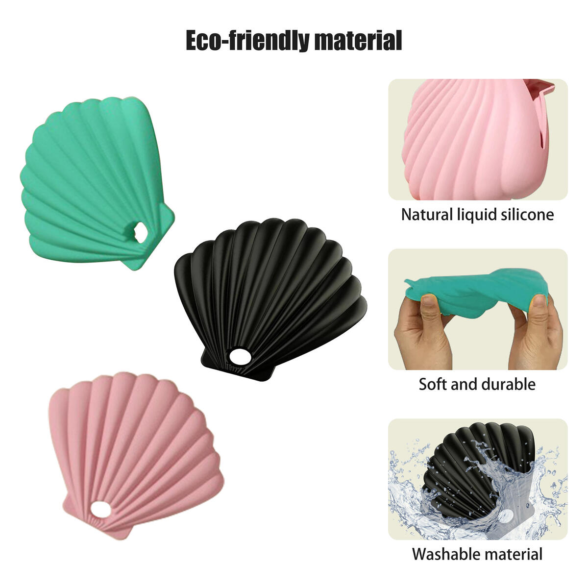 Silicone Face Mask Storage Case/Clip/Box/Holder/Container,Dust Proof,Easy carrying,Lightweight,Portable,Protection,,with Adjuster Extender Strap Band Buckle Hook,Anti-Tightening(3 Packs)