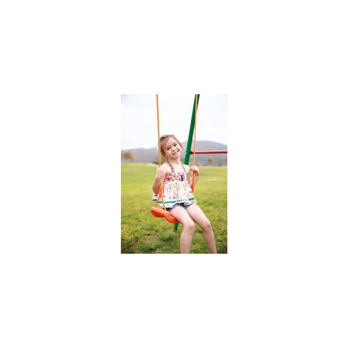 60% Off Kid Christmas Gift - Indoor/Outdoor Swing Fun: Kids Outside Swings For Swingset - You can take it inside your home during winter!