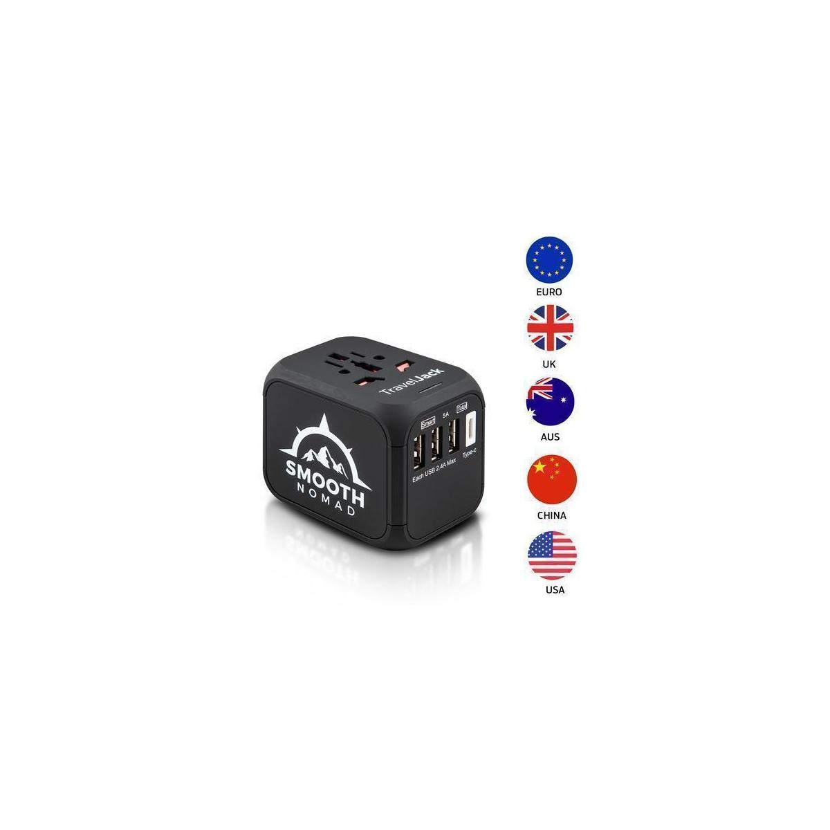 75% OFF International Travel Adapter by Smooth Nomad